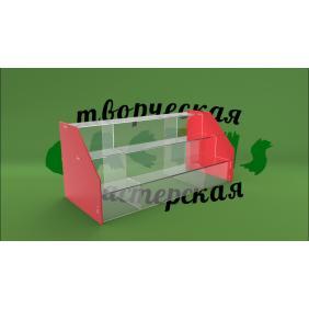 Витрина для товара из пластика