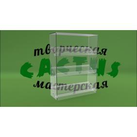 Подставка под товар из прозрачного пластика