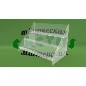 Витрина под выпечку из прозрачного оргстекла