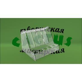 Акриловая прозрачная подставка для косметики