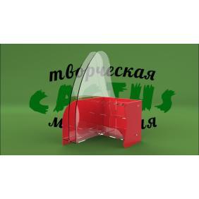Подставка под листовки пластиковая