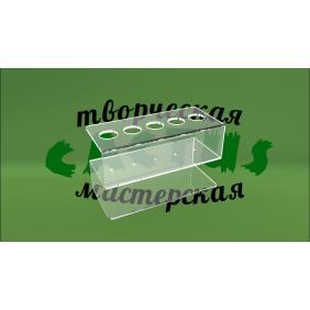 Для ручек из прозрачного пластика