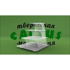 Акриловая подставка под товар