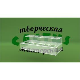 Пластиковая подставка для помад