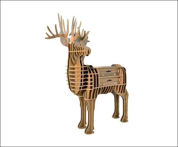 Декоративная мебель в виде животных